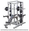 Legend Fitness - Double-Sided Half Cage (3155)
