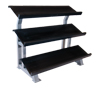 "CAP Barbell - 52"" Three Tier Stadium Rack"