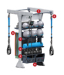 GYM RAX - Single Bay Bi-Directional Suspension (Loaded)
