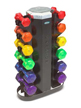 Hampton Fitness - Jelly Bells Urethane Coated Dumbbell