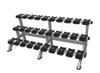 Nautilus - Triple Dumbbell Rack