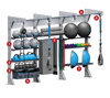GYM RAX - Triple Bay Standard Suspension (Loaded)