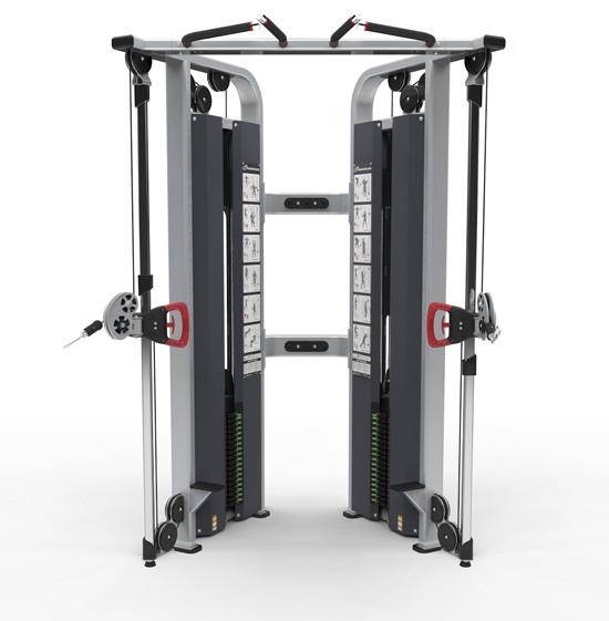 Adjustable Pulleys : Advantage fitness products nautilus inspiration dual adjustable pulley