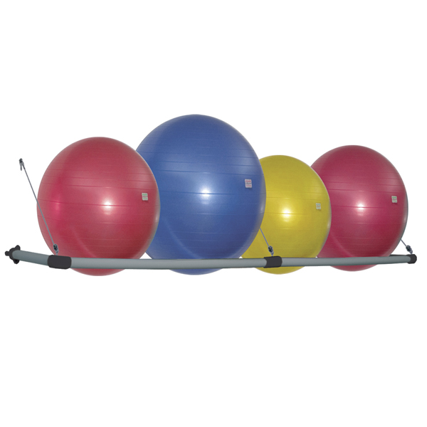 Stability Ball Wall Rack: Advantage Fitness Products : Products: Wall Mounted